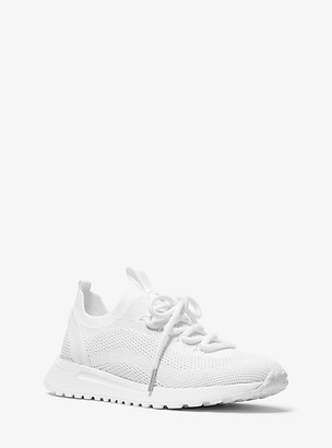 MICHAEL Michael Kors MK Bodie Mesh Trainer - Optic White - Michael Kors