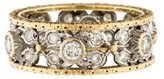 Buccellati 18K Diamond Band