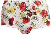 Dolce & Gabbana Floral-print bikini briefs