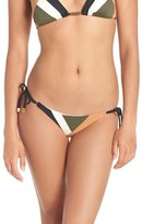 Vix Paula Hermanny 'Military Patch' Side Tie Bikini Bottoms