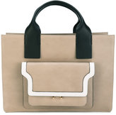 Marni top handles tote - women - Leather - One Size