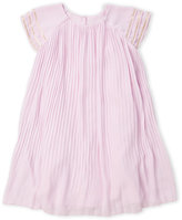 kardashian kids (Newborn/Infant Girls) Pleated Crepe Dress