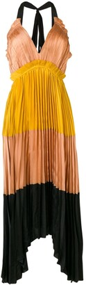 Ulla Johnson Pleated Midi Dress