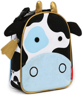 Skip Hop Black & White Cow Zoo Lunch Bag
