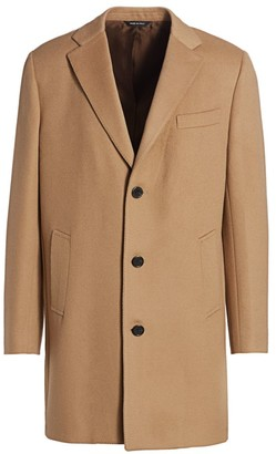 Saks Fifth Avenue COLLECTION Wool Top Coat