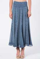 Apparel Love Embroidered Maxi Skirt