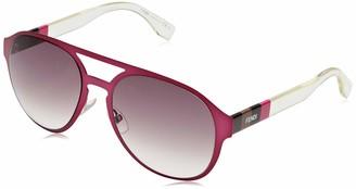 Fendi Women's FF 0082/S J8 E3X 55 Sunglasses