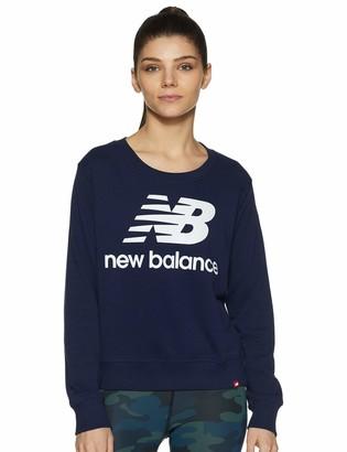 New Balance Women's Wt91585 Crew Neck Sweatshirt