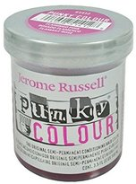 Jerome Russell Punky Hair Color Creme, Flamingo Pink, 3.5 Ounce
