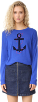 Sundry Anchor Crew Neck Sweater