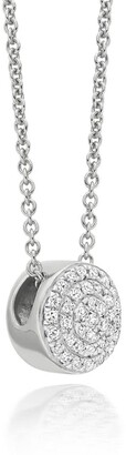 Monica Vinader Fiji Button Diamond necklace