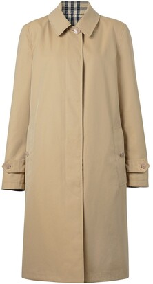 Burberry Reversible Single-Breasted Coat
