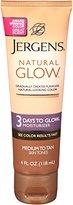 Jergens Natural Glow - 3 Days to Glow Moisturizer Medium to Tan Skin, 4 Ounce