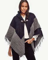 Ann Taylor Shawl Collar Cape