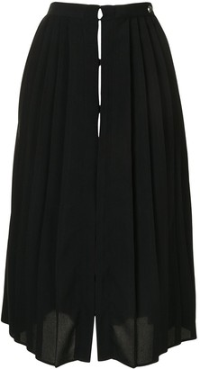 Twin-Set High-Waisted Pleated Skirt