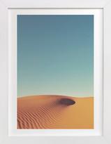 Minted Desert Wave Art Print