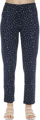 Eberjey Slim Bloom Printed Jersey Pajama Bottoms