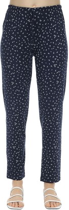 Eberjey Slim Bloom Printed Jersey Pajama Bottoms