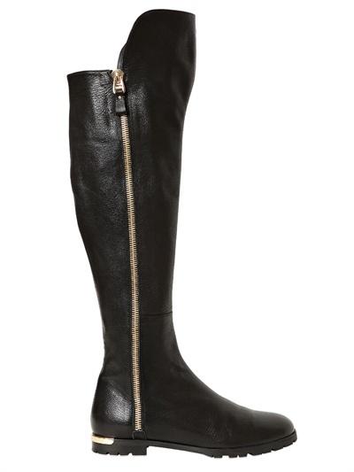 Ballin 20mm Zipped Calfskin Boots