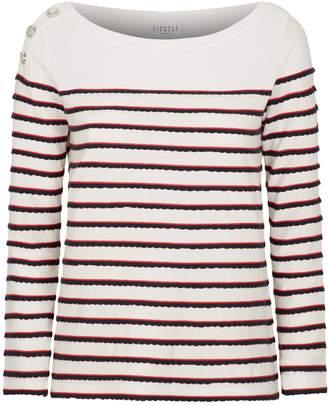 Claudie Pierlot Long-Sleeved Breton Stripe T-Shirt
