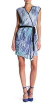 Komarov Faux Wrap Dress