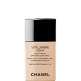 Chanel Vitalumière Aqua, Ultra-Light Skin Perfecting Sunscreen Makeup Spf 15