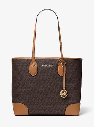 Michael Kors Eva Large Logo Tote Bag