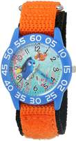 Disney Boy's 'Finding Dory' Quartz Plastic and Nylon Automatic Watch, Color: (Model: W003014)