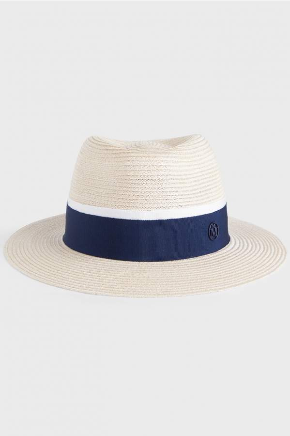 Maison Michel Andre Timeless Straw Hat