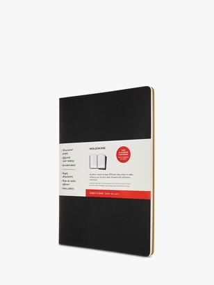 Moleskine A4 Cahier Journal, Black/Brown