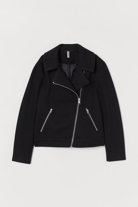 H&M Brushed Biker Jacket