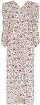 Isabel Marant Albi graphic floral print dress