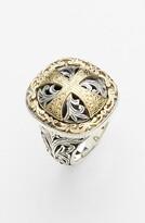 Konstantino 'Classics' Cross Two-Tone Ring