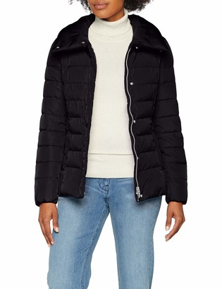 Geox womens W AIRELL Quilted Long Sleeve jacket