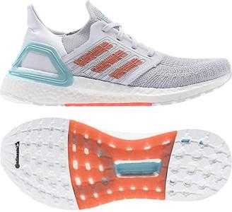 adidas Ultraboost 20 Primeblue (Dash Grey/True Orange/Blue Spirit) Women's Shoes