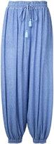 G.V.G.V. Yoryu chiffon aladdin pants - women - Polyester/Polyurethane/Tencel - 34