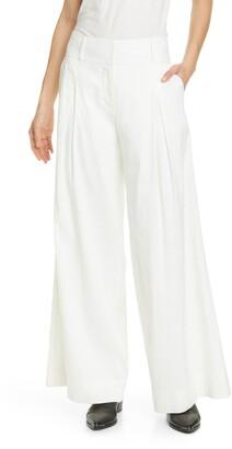 Frame Metropolitan High Waist Wide Leg Pants