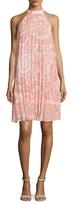 BCBGeneration Printed Pleated Dress