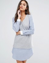 Sisley 2 in 1 Layer Shirt Dress