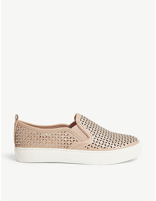 Aldo Cardabello perforated trainers