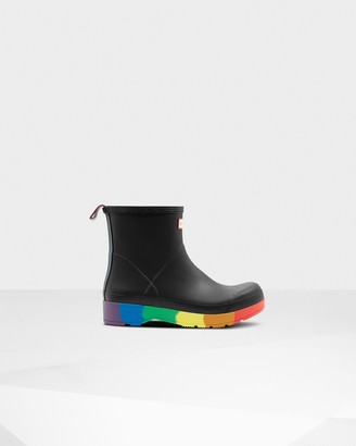 Hunter Original Pride Play Heeled Wellington Boots