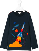 Paul Smith rocket long sleeved T-shirt - kids - Cotton - 2 yrs