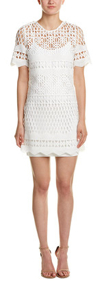KENDALL + KYLIE Crocheted A-Line Dress
