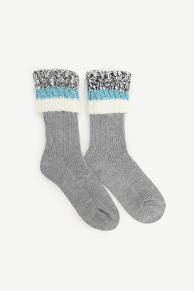 Ardene Cozy Folded Cuff Slipper Socks