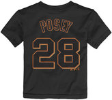Majestic Toddlers' Buster Posey San Francisco Giants Player T-Shirt