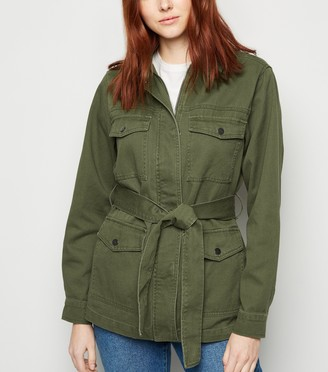 New Look Belted Lightweight Jacket