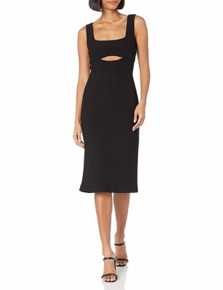 Finders Keepers findersKEEPERS Women's Nadia Sleeveless Cut-Out Midi Dress