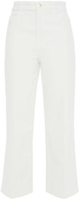 J Brand Cotton-blend Corduroy Kick-flare Pants