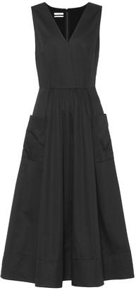 Co Essentials cotton midi dress