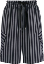 Cmmn Swdn striped shorts - men - Nylon/Spandex/Elastane/Viscose - 46